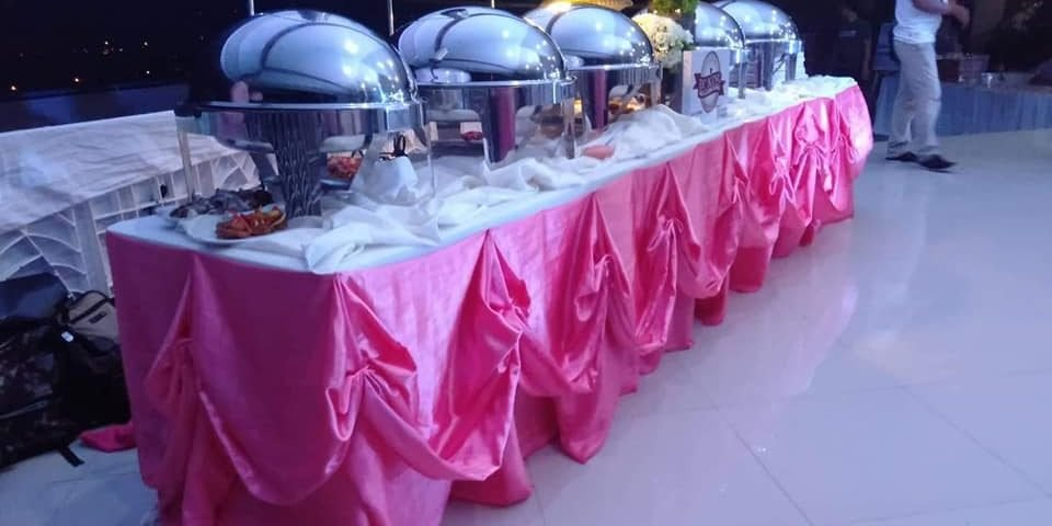 Another wedding catering @ladislawa gardens thanks sir for choosing us always!!!...