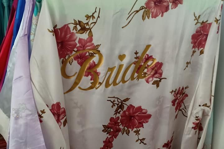 Infinity dresses and bridal robe for sale & for rent available @matina ofc !...