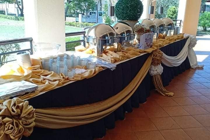 It's another wedding catering of kp events thanks for choosing us always sir!!! ...