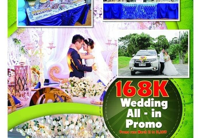 Wedding all in package @ 168K PROMO PROMO ONLY    WITH same day edit... PRO...