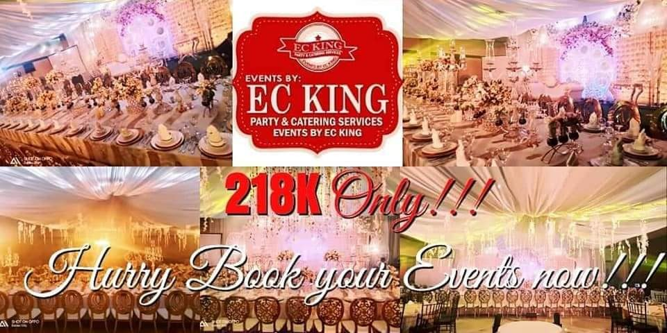 ALL IN WEDDING HOTEL PROMO PACKAGE 6 YEARS ANNIVERSARY OF EVENTS BY EC KING PROM...
