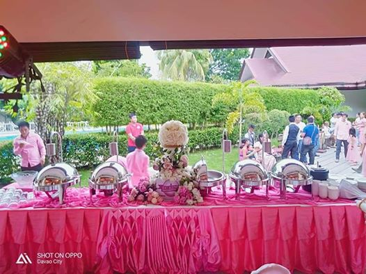 Another wedding catering of mellows events by mam Mellows Cacho event organizer!...