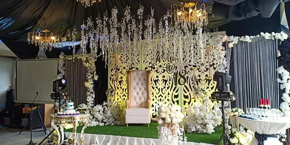 JESSA @ 18  Another debut decoration minimalist decor @ Abad function hall cross...