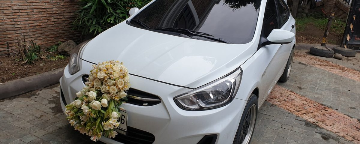 Our Bridal Car for Today,,,Eva Corcino