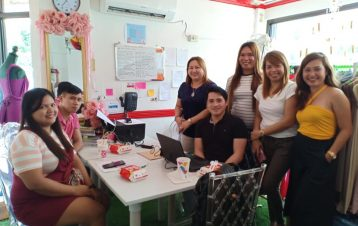 1ST set of final detailing and suppliers meeting @ matina ofc for our August bri...