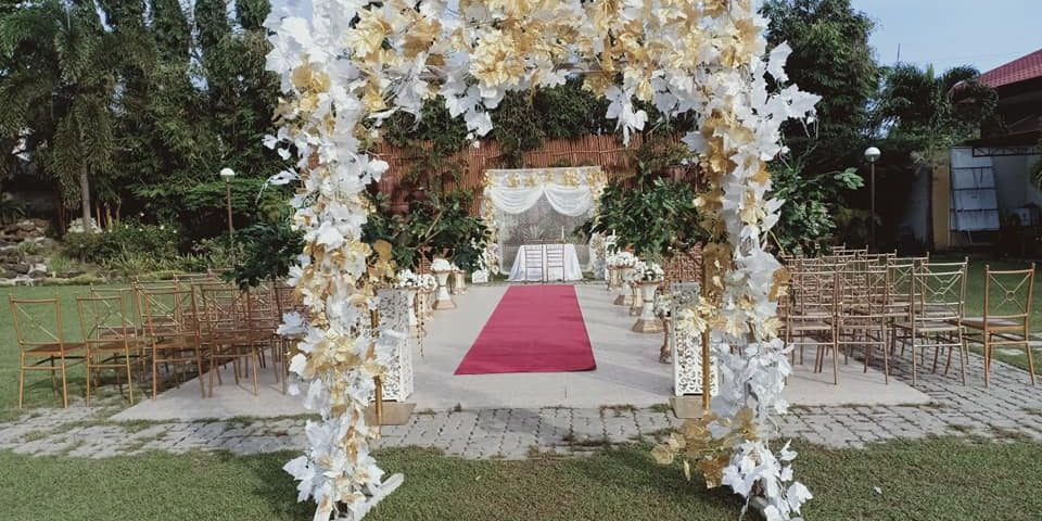A garden set up @hotel tropika   Kneipp & Corsonado wedding #eventsbyecking ...