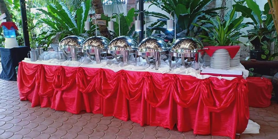 Another wedding catering of sir Kyam Delacruz Parallon of kp events at tagum cit...
