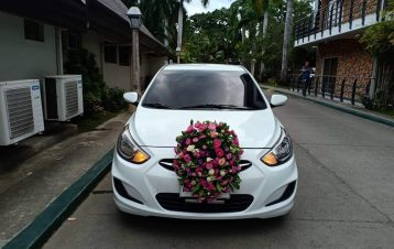 Arter noon bridal car hyundai accent thanks mac events for of sir Paul Mark Tibo...
