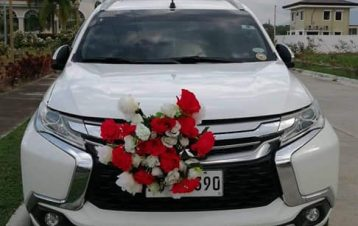 Bridal car montero sports by #eventsbyecking #bridalcarandvanrentalsbyecking  08...