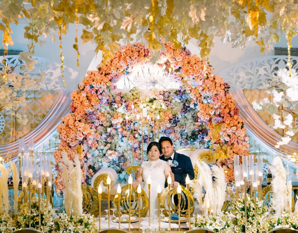 Ritche + MJ Wedding Highlights  Organized by: EC KING Party & Catering Services ...
