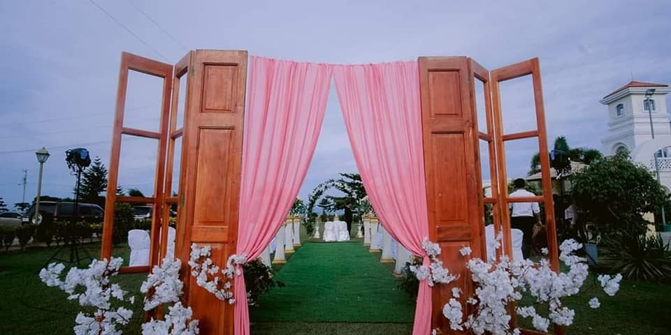 Garden set up at ocean cove  #eventsbyecking #fourkingseventplanner #eckingparty...