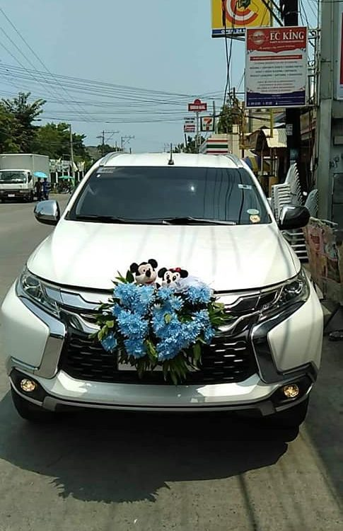 Montero bridal car booking of mam Christine Aranas thanks mam for the booking!!!...