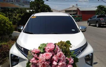 Xpander bridal car today!thanks to ds events of sir Dave Saturnino for the event...