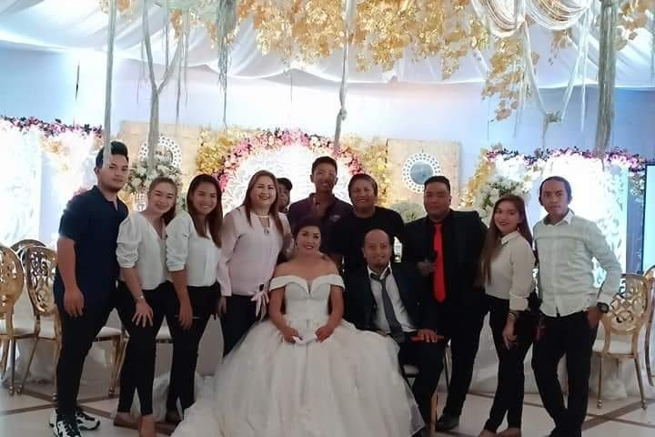 Congrats Clark and Ruby Joy Leong..  Thank u mam Eva Corcino of EC Kings Caterin...