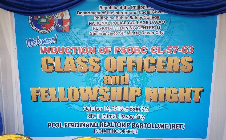 Induction of Officers and Fellowship Night  Event by EC King by: Eva Corcino  Th...