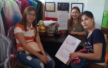Another confirmed booking and signing of contract of our all in wedding promo pa...