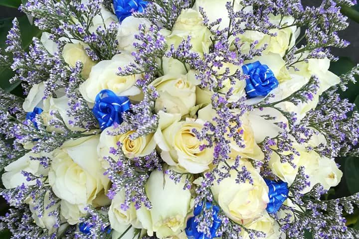 Todays bridal bouquet Eva Corcino EC King Party&Catering services/EVENTS BY ...