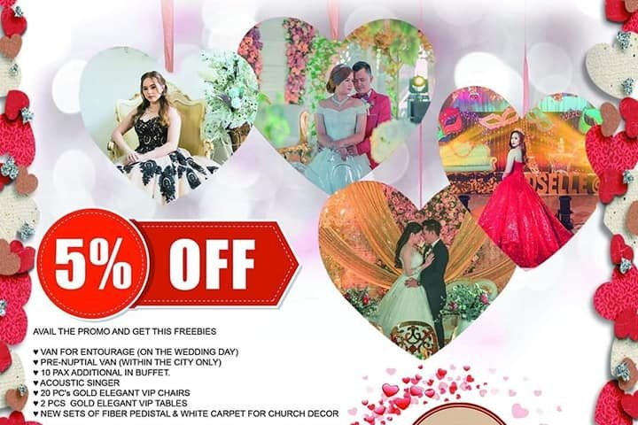 AVAILed OUR LESS 5% tomorrow our anniversary promo matina branch all services wi...