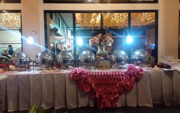 Another wedding catering yesterday of kp events by sir Kyam Delacruz Parallon th...