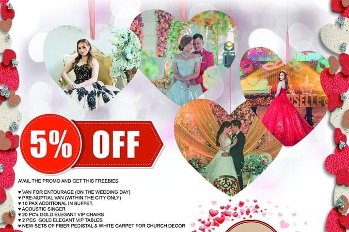PROMO PROMO ALERT ALL IN WEDDING HOTEL PROMO FEB IBIG VALENTINES DAY   PROMO PAC...