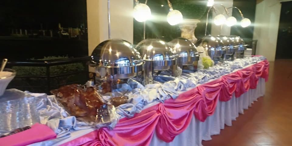 For intimate wedding at 25 to 30 pax promo for catering available 5 viands rice ...