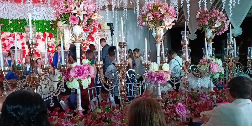 Different set up by events by ec king !choose your intimate design for 2020 wedd...