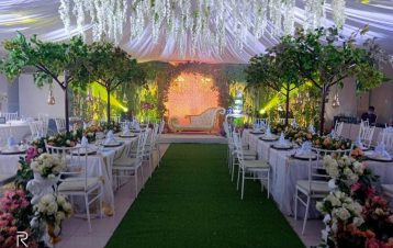 Venue decoration at Bellevue square thanks mam CLaire Razonable Macquinto Villas...