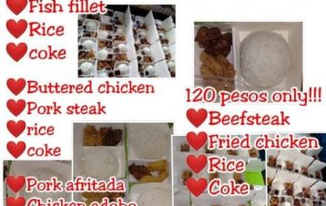 Budget pack packmeals sulit affordable!