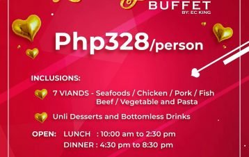 2 days celebration extended Feb 15 lunch and dinner buffet for 328 only!text or ...